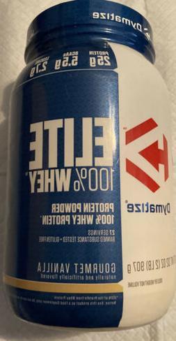 Dymatize Elite 100% Whey Protein Powder Rich Chocolate 32 Oz
