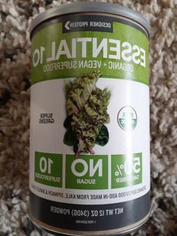 Designer Protein Essential 10 Organic +  Vegan Superfood Pow
