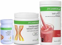 Herbalife F1 Strawberry Shake,500g, F3 Protein Powder, 200g