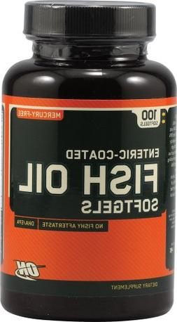Optimum Nutrition Fish Oil, 100 softgels