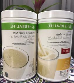 HERBALIFE FORMULA 1 HEALTHY MEAL SHAKE AND PROTEIN DRINK MIX