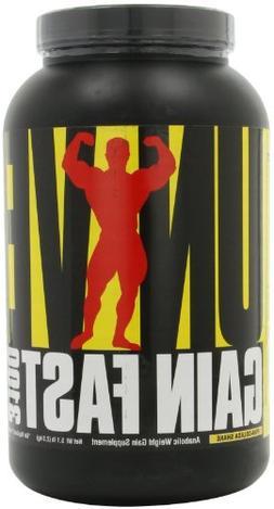 Universal Nutrition Gain Fast 3100, Pina Colada Shake, 5.1-P