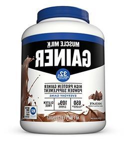 Muscle Milk Gainer Protein Powder, Chocolate, 32g Protein, 5