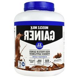 Muscle Milk Gainer Protein Powder Chocolate 32g Protein 5 Po
