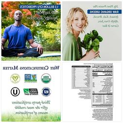 Garden of Life Greens and Protein Powder - Organic Raw Prote