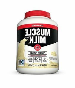 Muscle Milk Genuine Protein Powder Banana Crème Lactose Fre