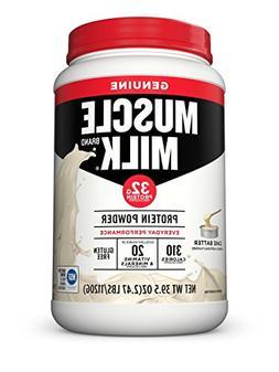 Muscle Milk Genuine Protein Powder, Cake Batter, 32g Protein