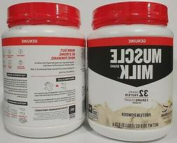 Muscle Milk Genuine Vanilla Crème Protein Powder 1.93 lbs Q