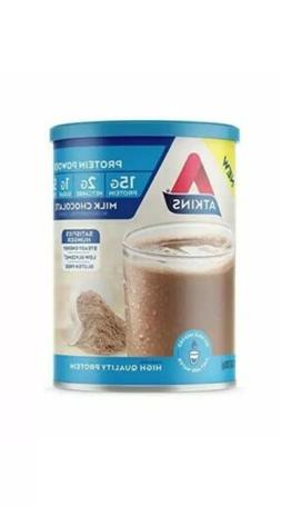 Atkins Gluten Free Protein Powder, Chocolate, Keto Friendly,