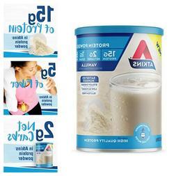 Atkins Gluten Free Protein Powder Vanilla Flavor Keto Friend