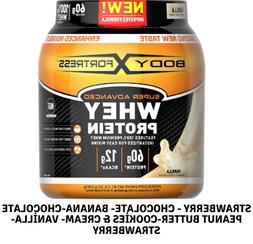 Gluten Free,Body Fortress Super Advanced Whey Protein Powder