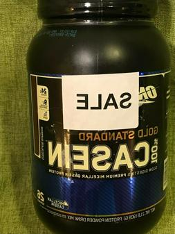 OPTIMUM NUTRITION GOLD STANDARD 100% CASEIN  protein amino e