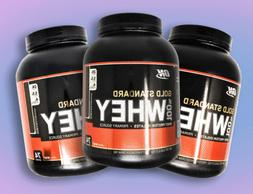 ON Gold Standard Whey Protein Powder 5lb Whey Protein + FREE