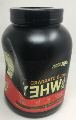 gold standard 100 percent whey protein double