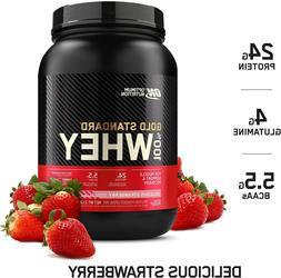 Optimum Nutrition Gold Standard 100% Whey Protein Powder, De
