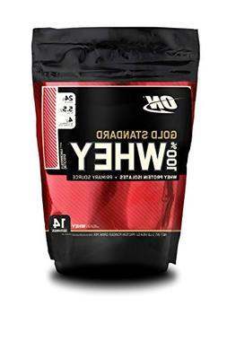 Optimum Nutrition Gold Standard 100% Whey, Strawberry, 1 Pou
