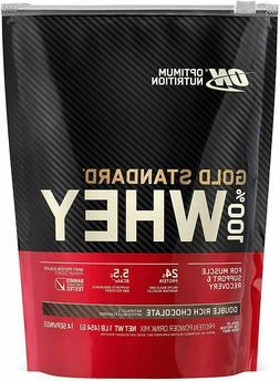 Optimum Nutrition Gold Standard 100% Whey, Double Rich Choco