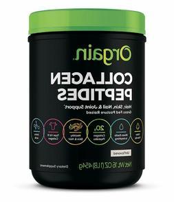 Orgain Grass Fed Hydrolyzed Collagen Peptides Protein Powder