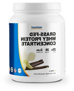 Nutricost Grass-Fed Whey Protein Concentrate  2LBS - Undenat
