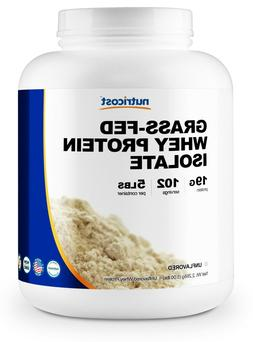 Nutricost Grass-Fed Whey Protein Isolate  5LBS