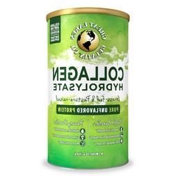 Great Lakes Gelatin Collagen Hydrolysate 16 oz  Pure Protein