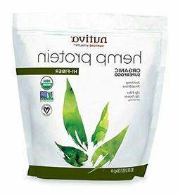 Hemp Organic, Cold Processed Seed Protein, Hi-Fiber 3lb Groc