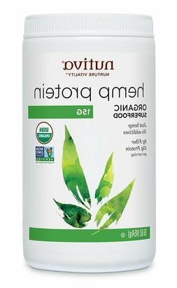 NUTIVA HEMP PROTEIN ORGANIC 15 g Powder Plant Superfood Non