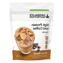 Herbalife High Protein Iced Coffee Drink Mix: House Blend