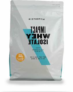 Myprotein Impact Whey Protein Powder Isolate, Salted Caramel