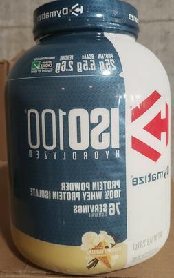 DYMATIZE NUTRITION ISO 100 1.6 lbs - 5 lbs Hydrolyzed 100% W
