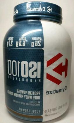 Dymatize Iso-100 Fudge Brownie - 45 servings
