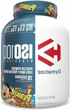 Dymatize ISO 100 Hydrolyzed Whey Protein Powder Isolate 5 lb
