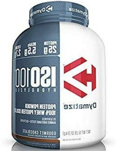 Dymatize ISO 100 Whey Protein Powder Isolate 5 lbs Gourmet C