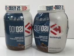 Dymatize, ISO100 Hydrolyzed Protein Powder, Gourmet Chocolat