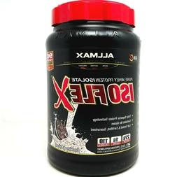ISOFLEX by ALLMAX Isolate Protein 2LB 30 Servings ALL FLAVOR