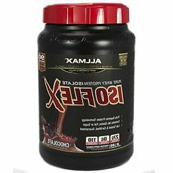 ALLMAX ISOFLEX Whey Protein Isolate, 90% Pure Protein, Amazi