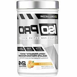 Cellucor Isopro 100% Native Whey Protein Isolate Powder Oran