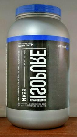 Nature's Best Isopure Mass, Creamy Vanilla, 3.25-Pound Tub