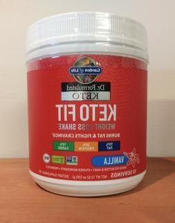Garden of Life Keto Fit Dr. Formulated Vanilla 12.52 oz 10 s