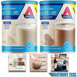 ATKINS KETO PROTEIN POWDER Gluten Free Weight Loss Shake 10o