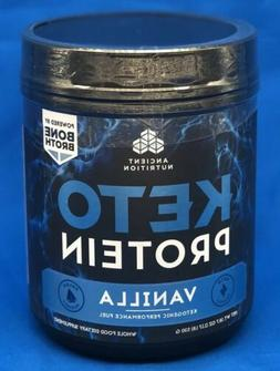 Ancient Nutrition KetoPROTEIN Powder, Keto Diet Supplement,