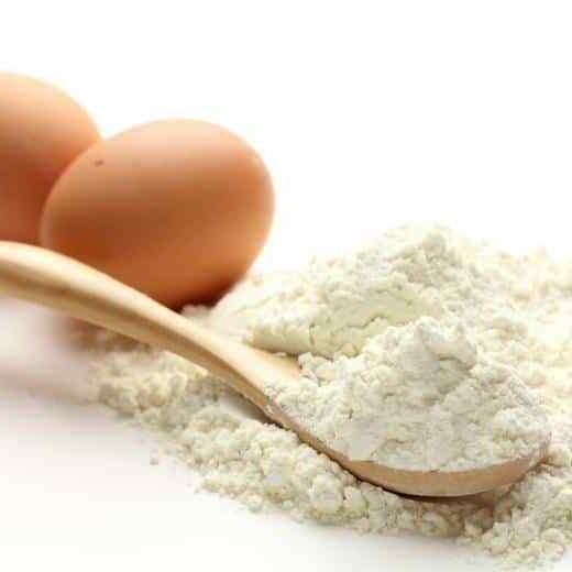 100 percent dried hen egg white albumen
