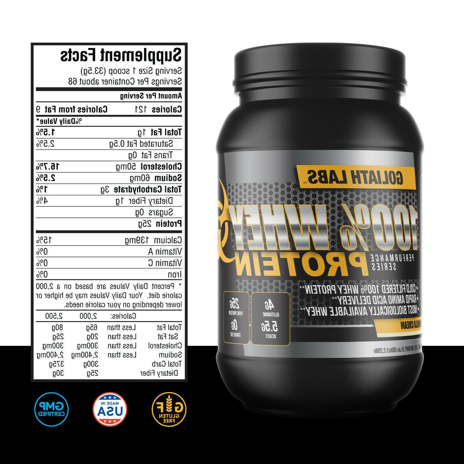 Goliath Labs 100% Protein protein 68