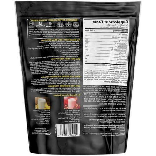 MuscleTech Powder, Vanilla Ice 5 Pound