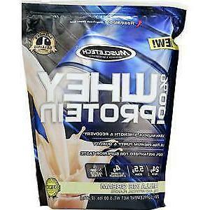 100 percent whey protein powder vanilla ice