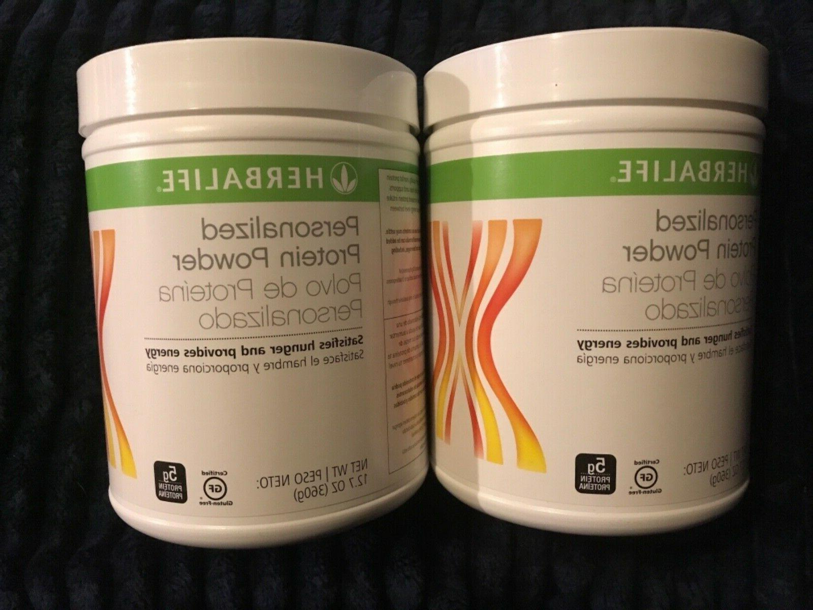 2 new personalized protein powder 12 7