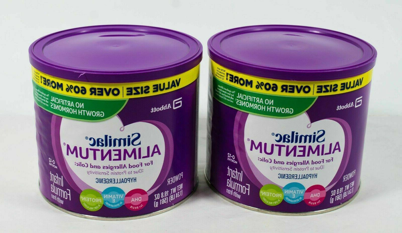 Alimentum Ready To Feed 2 Oz 2 similac alimentum 19.8oz powder infant formula prote