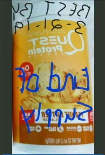 2lb protein powder peanutbutter read description best