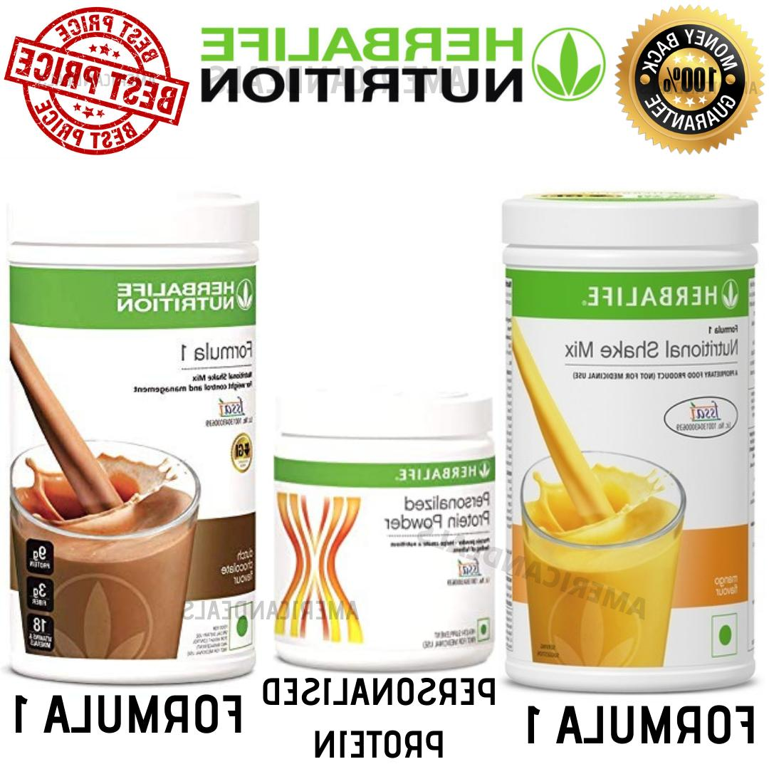 Herbalife 2x Formula 1 Healthy Meal Mix  + Protein Powder |