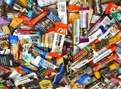 50 Assorted  NUTRITION ENERGY & PROTEIN BAR Luna CLIF MET-Rx